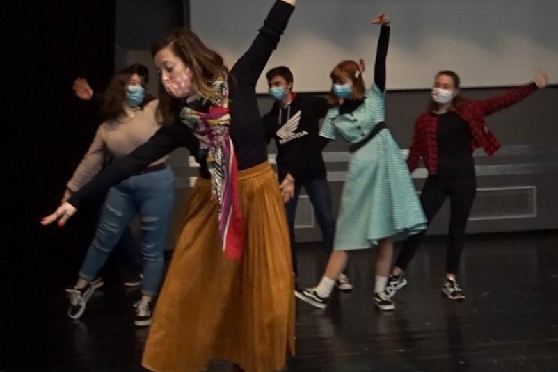 Option Théâtre du lycée Cordouan